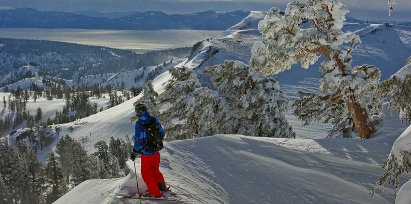 Lugares para esquiar na Califórnia