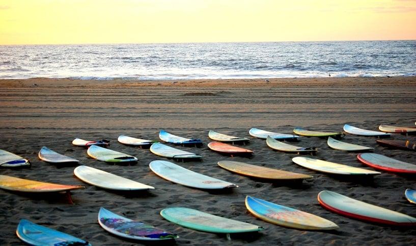 Praia Malibu para surfar em Los Angeles