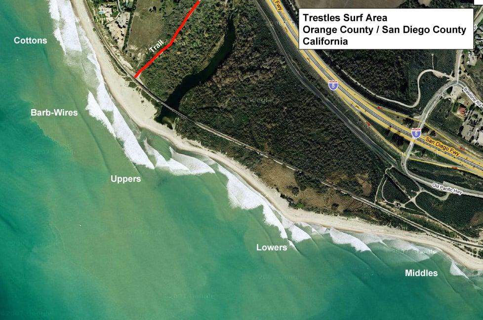 Praia para surfar na Califórnia
