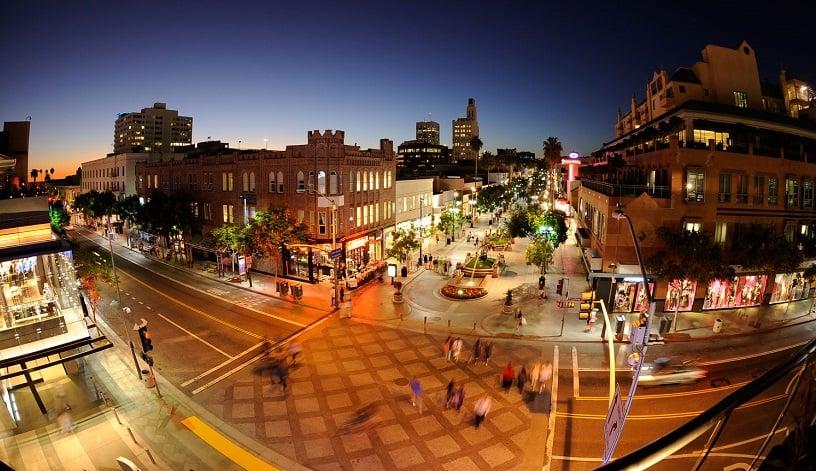 Ficar hospedado em Downtown Santa Mônica e 3rd Street em Santa Mônica