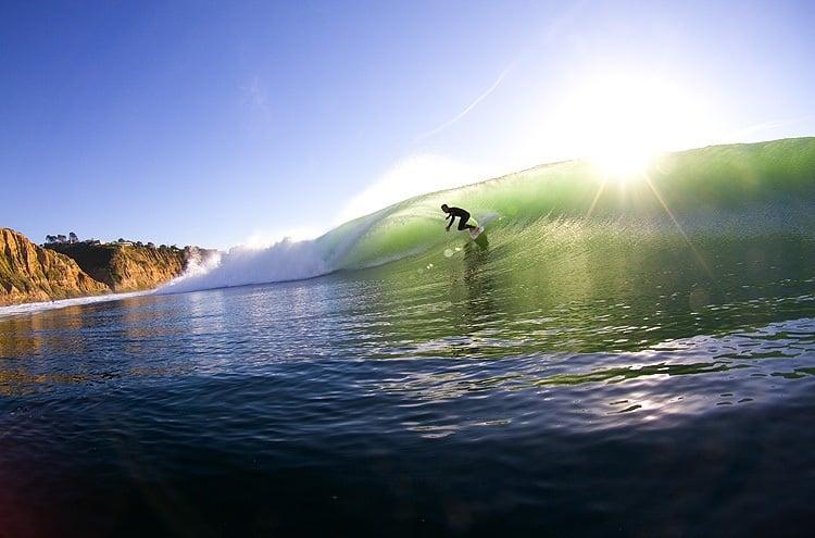 Black´s Beach em San Diego na Califórnia
