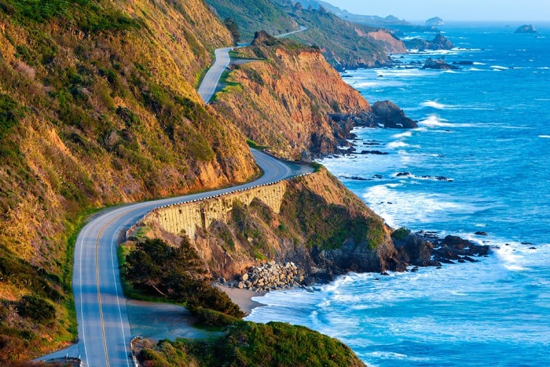 Estradas em Los Angeles