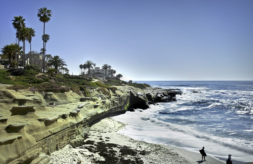 Point Loma em San Diego na Califórnia