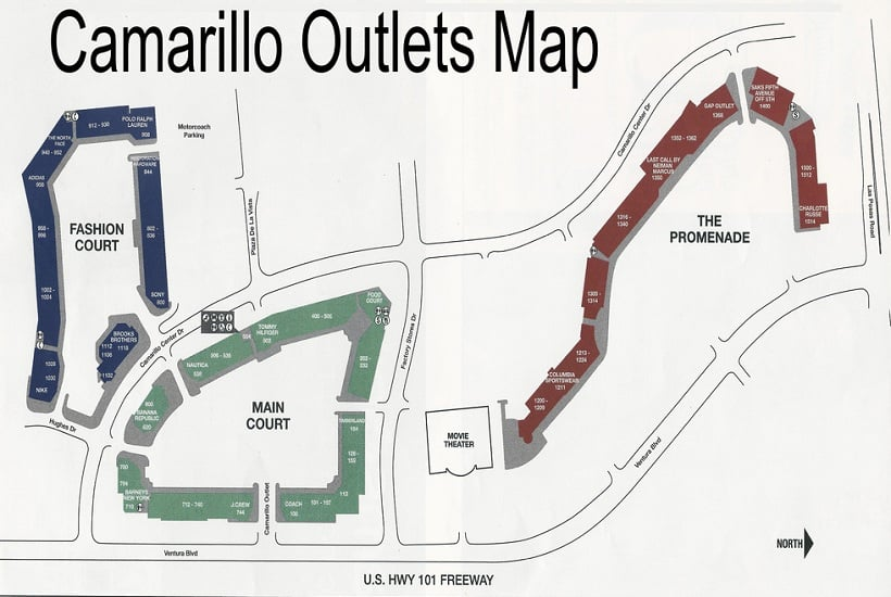 Camarillo Premium Outlet em Los Angeles