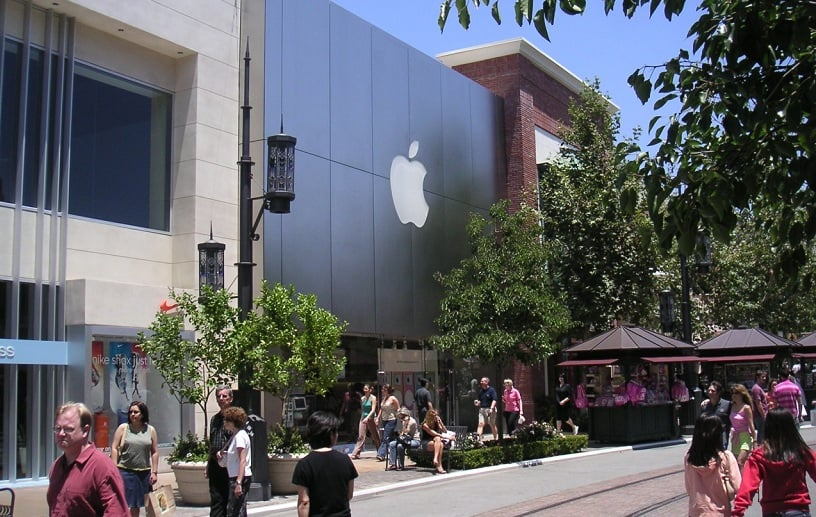 Loja da Apple no The Grove em Los Angeles