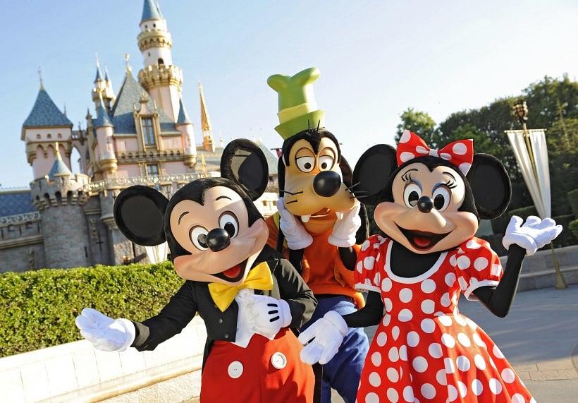 Disneyland em Los Angeles na Califórnia