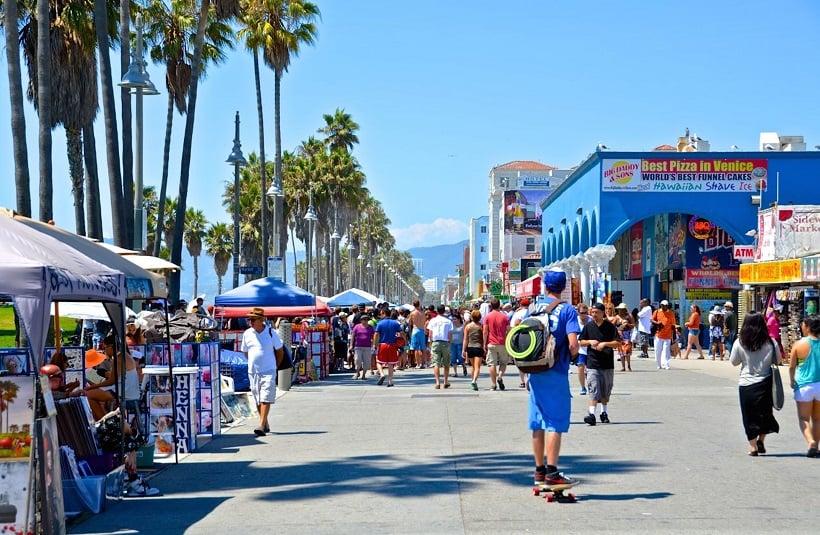 Venice Beach na Califórnia