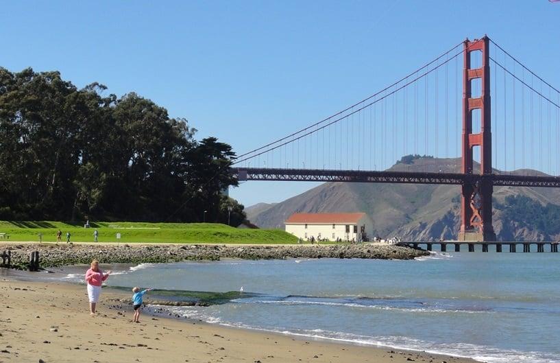Tour pela Ponte Golden Gate em San Francisco na Califórnia