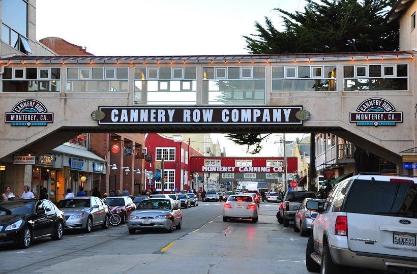 Cannery Row em Monterey na Califórnia