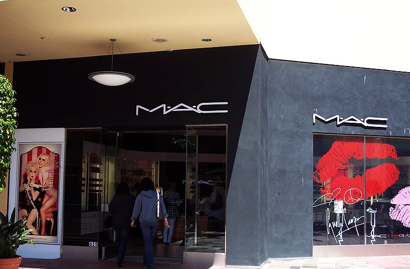 Loja Mac no Fashion Valley Mall em San Diego