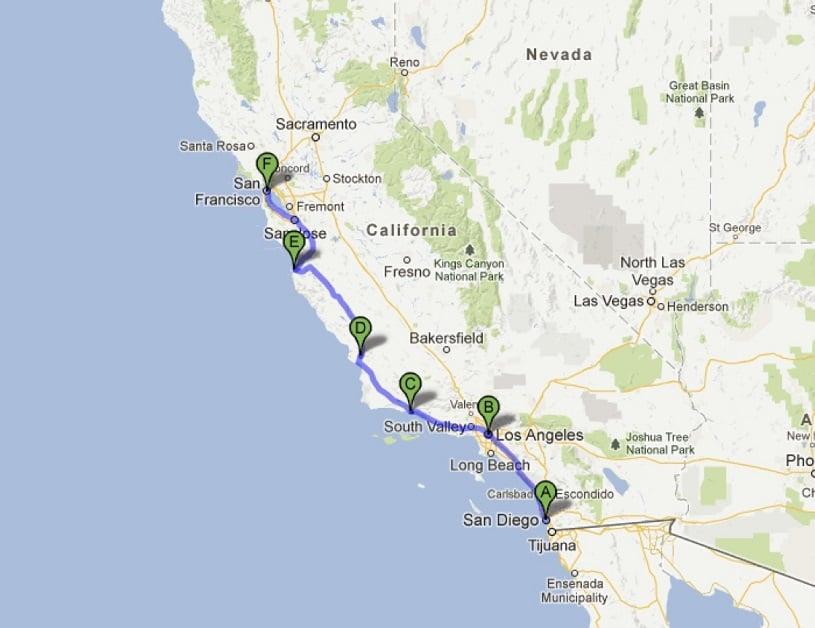 Roteiro: San Francisco, Napa Valley, Yosemite e Los Angeles