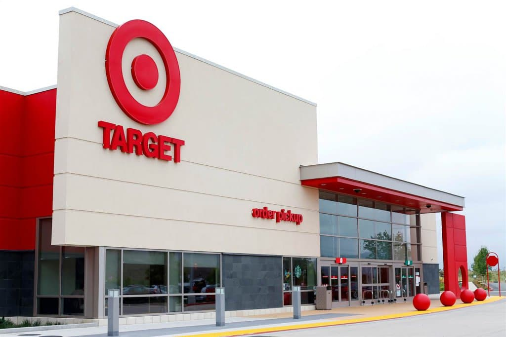 Supermercado Target em San Diego e na Califórnia