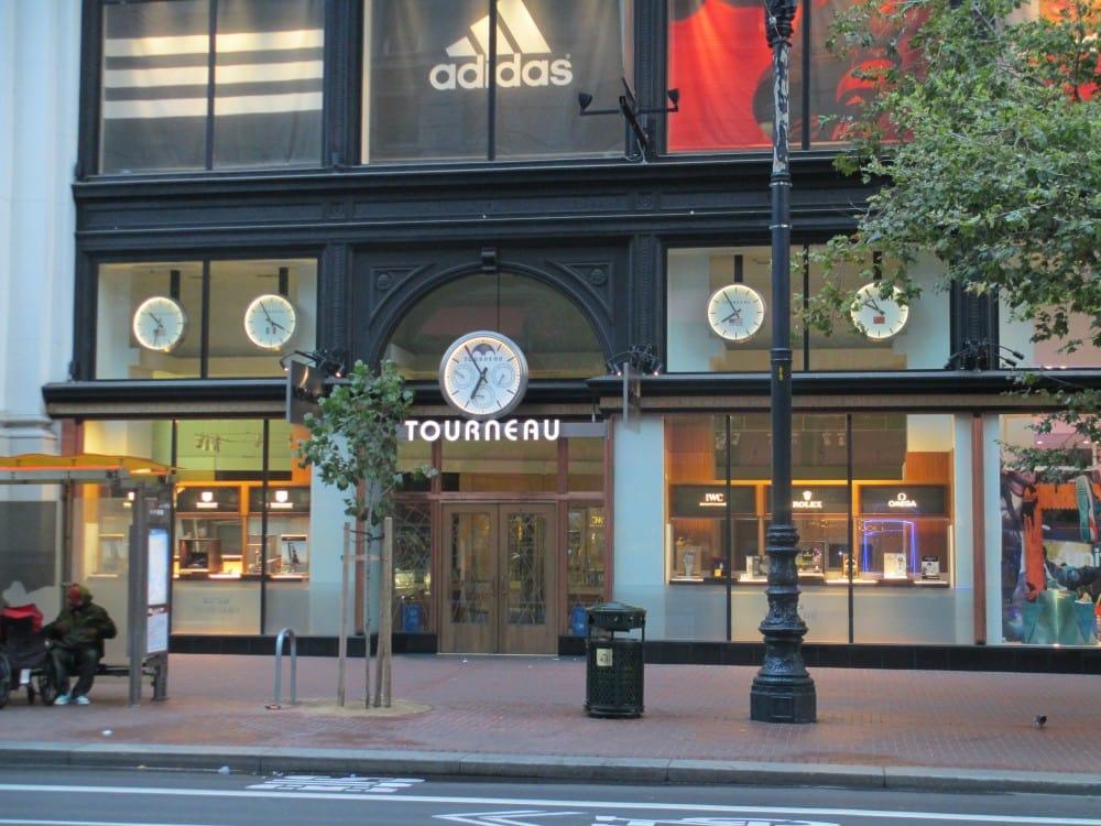 Tourneau para comprar relógio em San Francisco