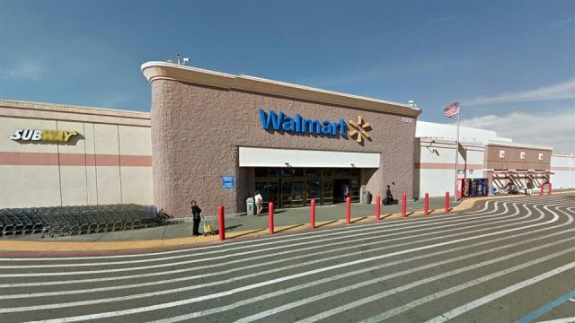 Loja Walmart em San Francisco e na Califórnia