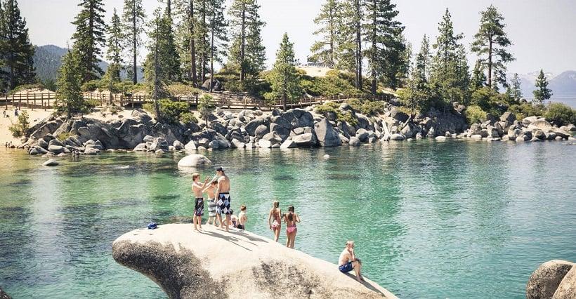 Passeios e diversão em Lake Tahoe na Califórnia