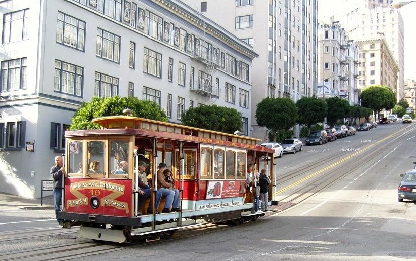 Passeio de bondinho em San Francisco