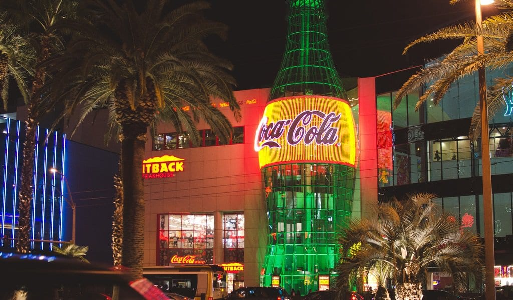 The World of Coca-Cola em Los Angeles na Califórnia