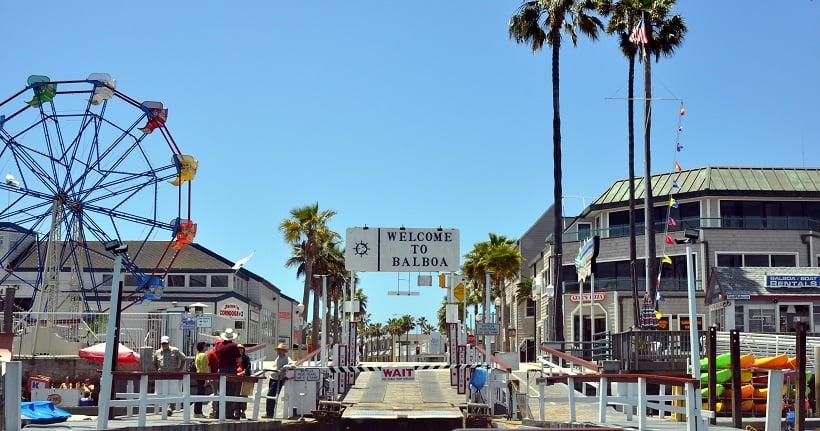 Balboa Fun Zone em Newport Beach