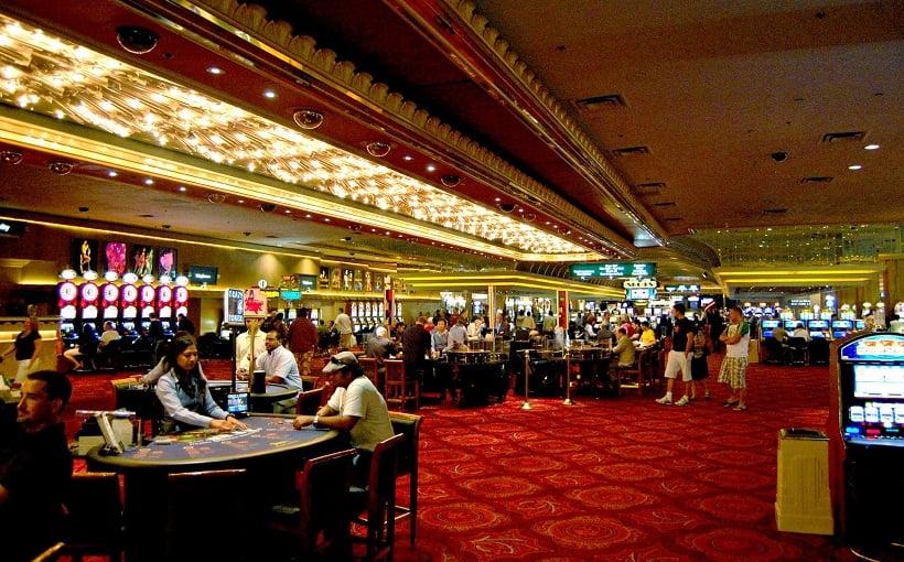 Jogos nos cassinos em Las Vegas