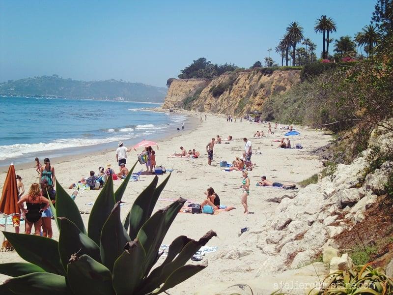 Butterfly Beach em Santa Bárbara