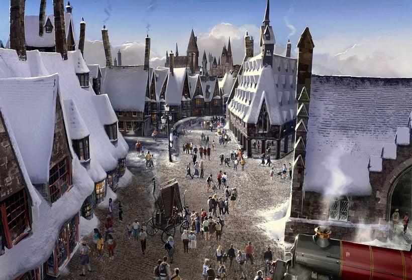 Hogwarts na Universal Studios Hollywood