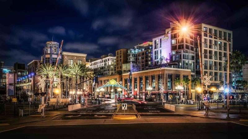 Melhor região para ficar em San Diego: Gaslamp Quarter