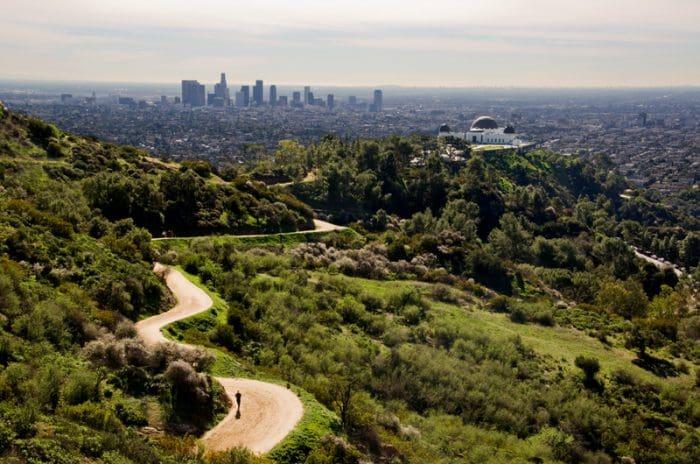 Griffith Park em um roteiro de viagem em Los Angeles