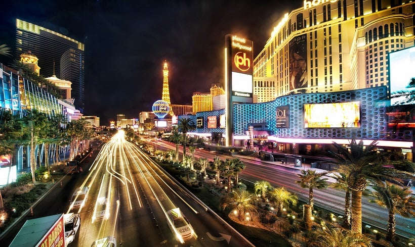 Las Vegas Strip em Las Vegas