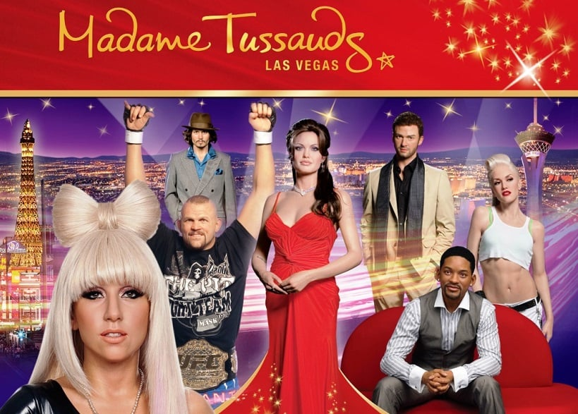 Tour no Museu Madame Tussauds em Los Angeles