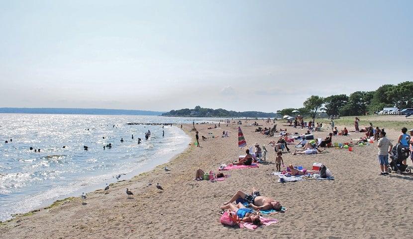 Praia em Oakland