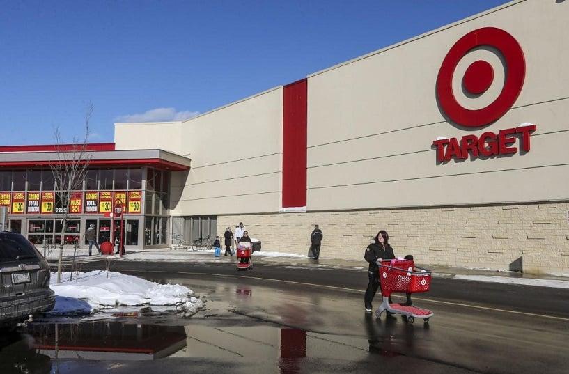 Loja e supermercado Target na Califórnia