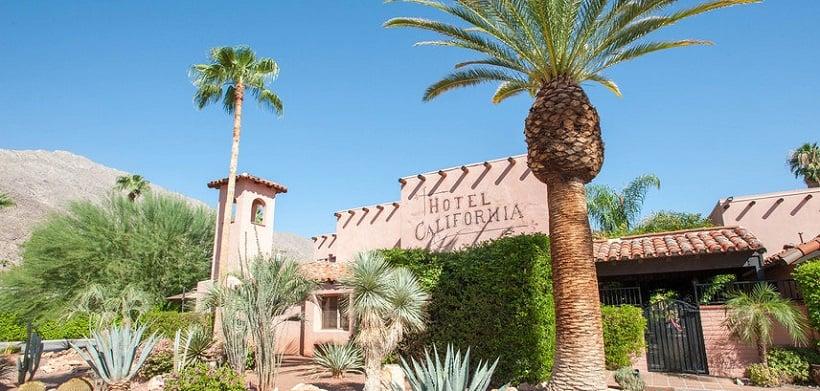 Hotel Califórnia em Palm Springs