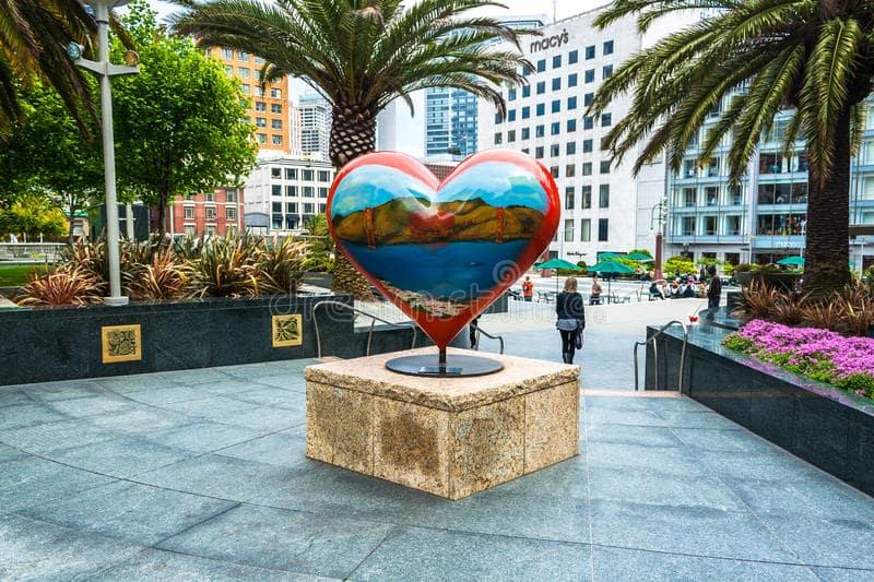 Centros comerciais e financeiros em San Francisco