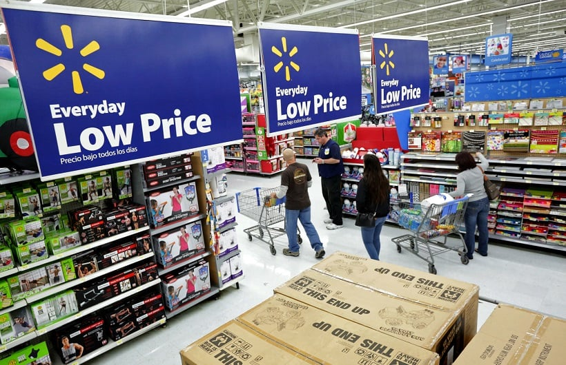 Supermercado Walmart para comprar GPS em Los Angeles