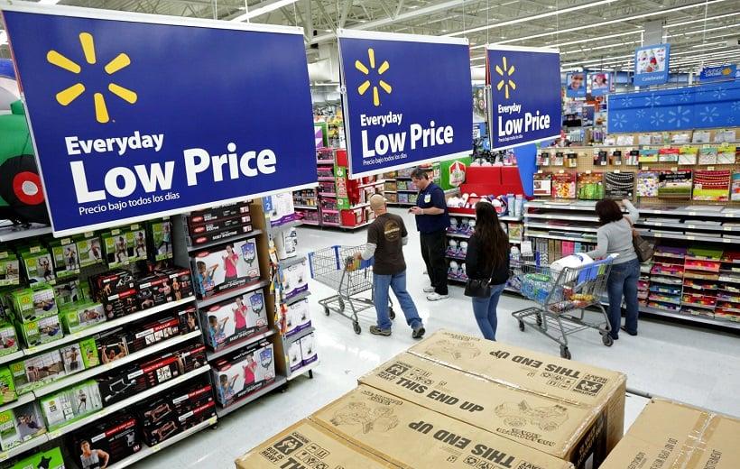 Lojas Walmart na Califórnia