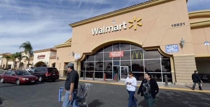 Supermercado Walmart em Los Angeles na Califórnia