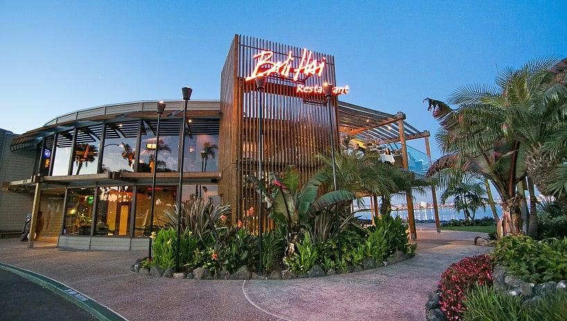 Bali Hai Restaurant com vista para a cidade em San Diego