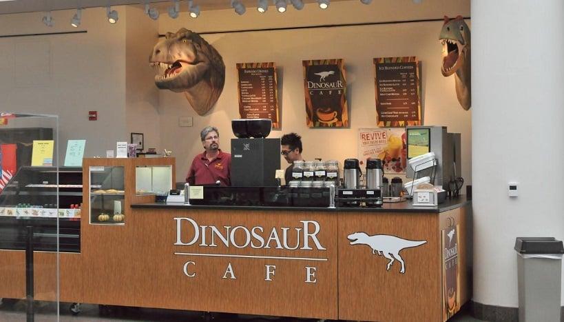 Atrações no Museu de História Natural de San Diego
