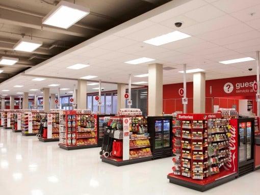 Supermercado Target em Los Angeles
