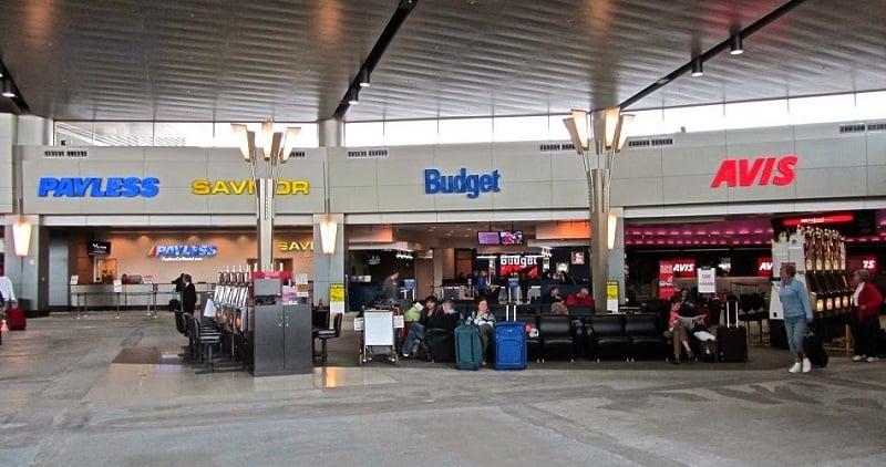 Locadoras de carros nos aeroportos da Califórnia