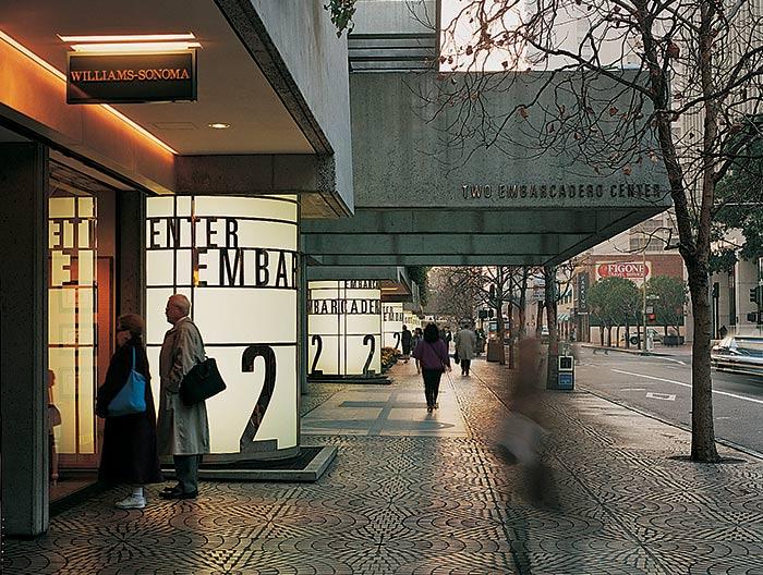 Informações sobre o shopping Embarcadero Center em San Francisco na Califórnia