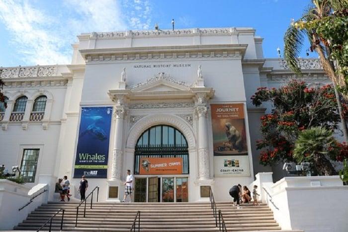 Fachada do Museu de História Natural de San Diego