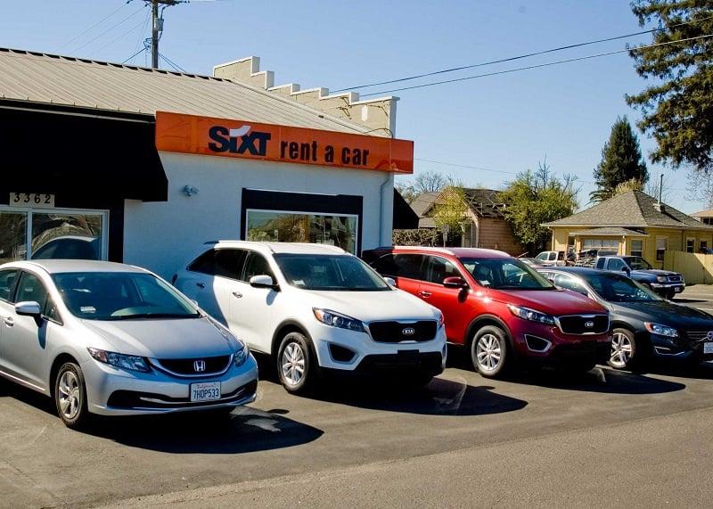 Melhores empresas para aluguel de carro na Califórnia