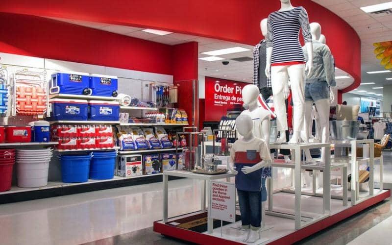 Supermercado Target em Los Angeles na Califórnia