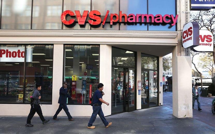 CVS para comprar shampoo e condicionador em San Francisco
