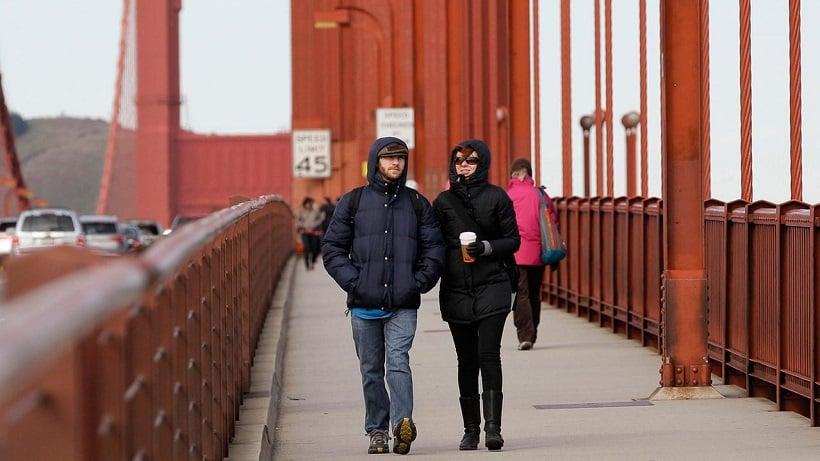 Passeio ao ar livre pela Ponte Golden Gate em San Francisco