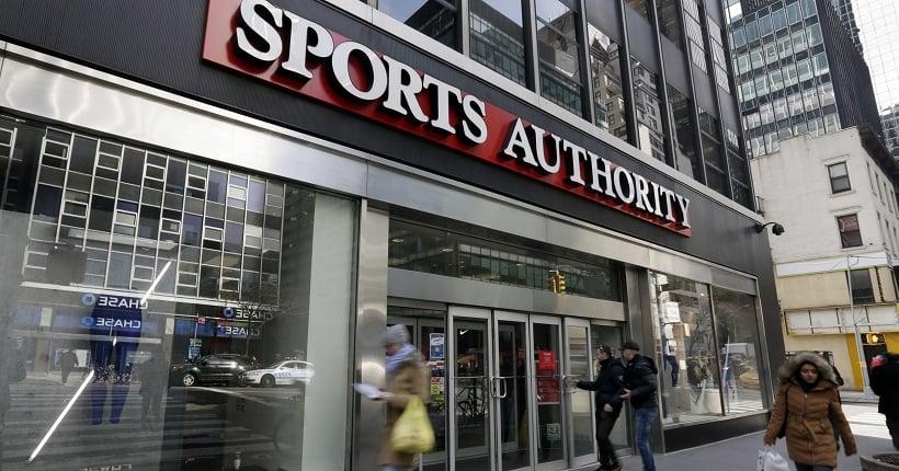 Loja Sports Authority em San Diego