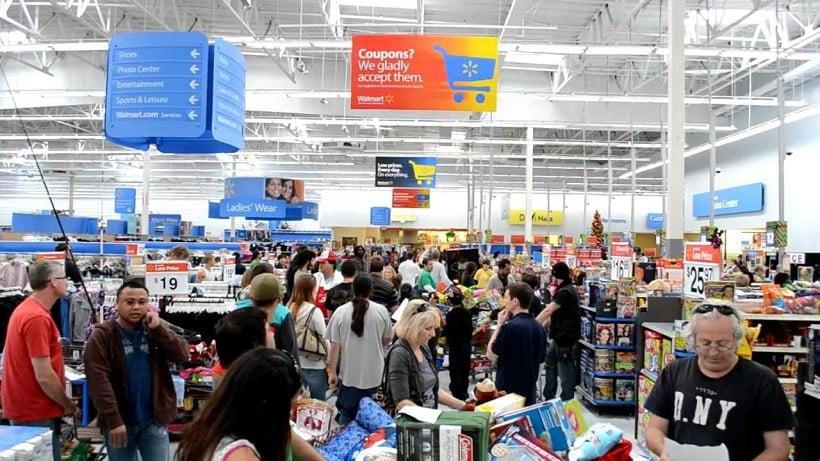 Walmart para comprar shampoo e condicionador em San Diego
