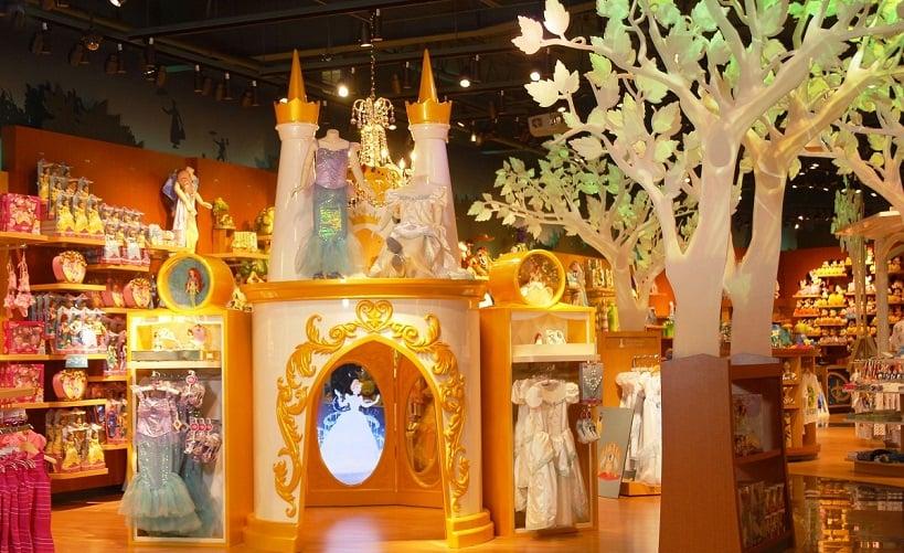 Loja de brinquedos Disney Store em San Francisco na Califórnia