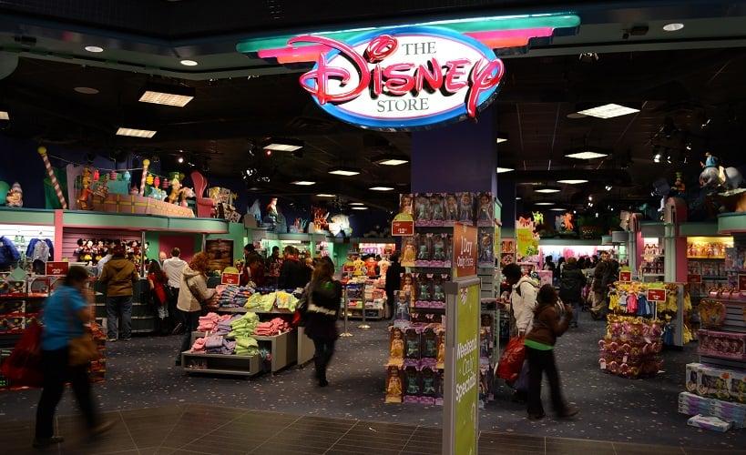 Loja de brinquedos Disney Store em San Diego